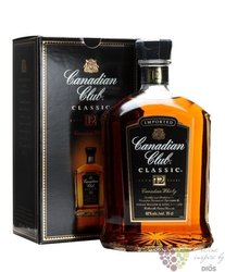 "Canadian Club "" Classic "" aged 12 years premium Canadian whisky 40% vol.   1.00l"
