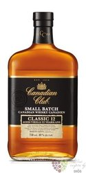 "Canadian Club "" Small batch classic "" aged 12 years Canadian whisky 40% vol.   0.70 l"