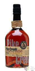 Pike Creek 10 years old Canadian whisky 42% vol.   0.70 l