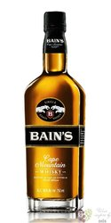 Bain´s Cape Mountain single grain whisky by James Sedgwick 40% vol.  0.70 l