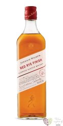 "Johnnie Walker Blender´s batch "" no.1 red rye finish "" blended Scotch whisky 40% vol.  0.70 l"