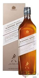 "Johnnie Walker Blender´s batch "" no.2 Bourbon Cask & Rye "" Scotch whisky 40% vol. 1.00 l"