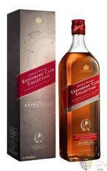 "Johnnie Walker Explorer´s club collection "" Adventurer "" ltd. Scotch whisky 40%vol.  1.00 l"