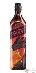 """Johnnie Walker Game of Thrones ltd. """" a Song of Fire """" Scotch whisky 40.8% vol.0.70 l"""