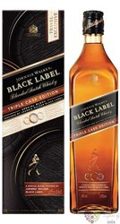 "Johnnie Walker Black label "" Triple cask edition "" Scotch whisky 40% vol. 1.00 l"