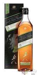 "Johnnie Walker Black label Origin "" Lowlands "" ltd. Scotch whisky 42% vol.  1.00 l"