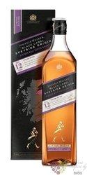 "Johnnie Walker Black label Origin "" Speyside "" ltd. Scotch whisky 42% vol.  1.00 l"