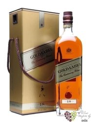 "Johnnie Walker "" Gold label "" 18 years old premium blended Scotch whisky 40% vol.    1.75 l"