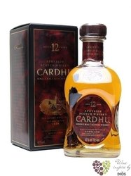 Cardhu 12 years old single malt Speyside Scotch whisky 40% vol.    0.70 l