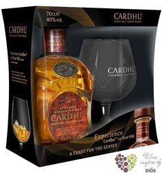 Cardhu 12 years old glass pack 2012 single malt Speyside Scotch whisky 40% vol.0.70 l