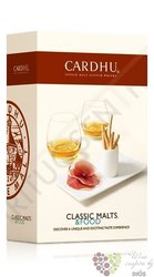 "Cardhu "" Clasic malts & food "" 18 years old single malt Speyside whisky 40% vol.  0.70 l"