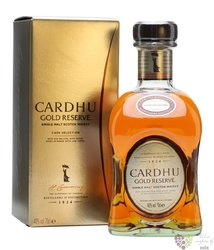 "Cardhu "" Gold reserve "" single malt Speyside whisky 40% vol.    0.70 l"