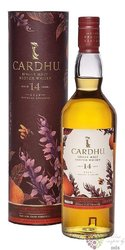 "Cardhu "" Amontilado cask finish "" 14 years old single malt Speyside Scotch whisky 55% vol.  0.70 l"