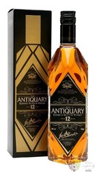 """the Antiquary """" Superior de Luxe """" 12 years old blended Scotch whisky 40% vol.0.70 l"""