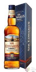 """Sir Edward´s """" Smoky """" finest blended Scotch whisky 40% vol.  0.70 l"""