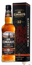 Sir Edward´s 12 years old blended Scotch whisky 40% vol.  0.70 l