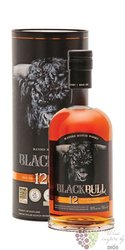 Black Bull 12 years old blended malt Scotch whisky by Duncan Taylor 50% vol. 0.70 l