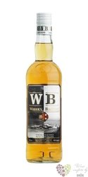 "Whisky Breton "" WB "" French blended whisky by Distillerie Warenghem  40% vol. 0.70 l"
