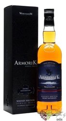 "Armorik "" Double maturation "" French single malt whisky by Warenghem 46% vol. 0.70 l"