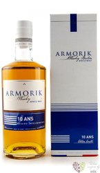 Armorik Limited edition French single malt 10 years old whisky by Warenghem 42%vol. 0.70 l