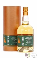 "Cragganmore "" Duthies copper stills "" aged 18 years whisky by WM Cadenhead 46% vol.  0.70 l"
