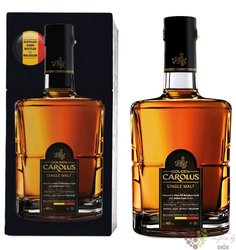 "Gouden Carolus "" Stokerij De Molenberg "" Belgian single malt whisky 46% vol. 0.50 l"