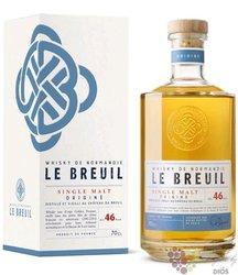 """Chateau du Breuil """" le Breuil Origine """" single malt French whisky 46% vol.  0.70 l"""