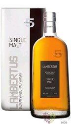 Lambertus 5 single malt Belgium whisky Radermacher 46% vol.  0.70 l