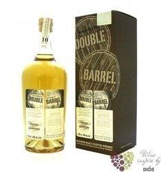 """Ardbeg & Glenrothes """" Double barrel """" aged 10 years blended malt whisky DouglasLaing 46% vol. 0."""