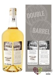 "Highland Park & Bowmore "" Double barrel "" aged 10 years blended malt Douglas Laing 46% vol.  0.7"