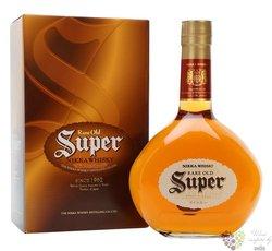 "Nikka "" Super Rare old "" premium blended Japan whisky 40% vol.   0.70 l"