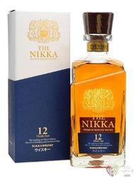Miyagikyo aged 12 years single malt Japan whisky by Nikka whisky 45% vol.    0.70 l