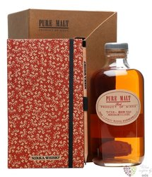 "Nikka pure malt "" Red "" gift set Japan whisky 43% vol.  0.50 l"