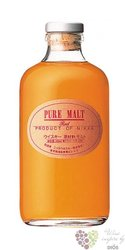 Nikka pure malt Japan whisky 43% vol.   0.50 l