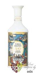 """Nikka """" Brandy de Luxe XO """" white amphore Japan brandy 40% vol.   0.66 l"""
