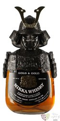 "Nikka "" Gold & Gold Samurai "" blended malt Japanese whisky 40% vol.  0.70 l"