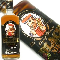 "Nikka "" Black Clear blend "" Japan blended whisky 37% vol.    0.70 l"