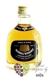 Nikka Gold & Gold Pot & Coffey still Japan whisky by Nikka 40% vol.    0.05 l