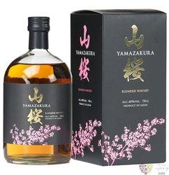 Yamazakura blended Japanese whisky by Sasanokawa Shuzo 40% vol.  0.70 l