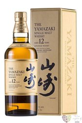 Yamazaki aged 12 years single malt Japanese whisky by Suntory 43% vol.  0.70 l