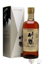 Taketsuru aged 21 years Japanese pure malt whisky by Nikka 43% % vol.  0.70 l