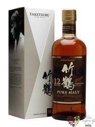 Taketsuru aged 12 years Japan pure malt whisky by Nikka distillery 43% % vol. 0.70 l