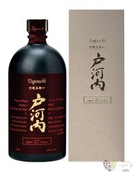 Togouchi aged 12 years blended Japanese whisky 40% vol.  0.70 l