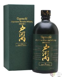 Togouchi aged 9 years blended Japanese whisky 40% vol.  0.70 l