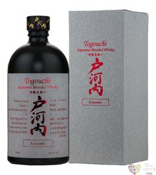 "Togouchi "" Kiwami "" blended Japanese whisky 40% vol.  0.70 l"