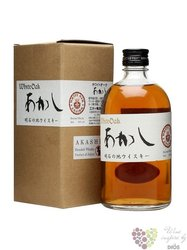 Akashi blended Japanese whisky by White oak distillery 40% vol.  0.50 l