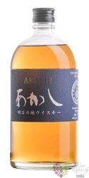 """Akashi """" Blue """" blended Japanese whisky White oak distillery 40% vol.  0.50 l"""