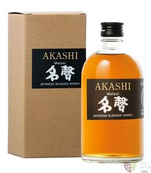 "Akashi "" Meisei "" blended Japanese whisky by Eigashima White Oak 40% vol.  0.50l"