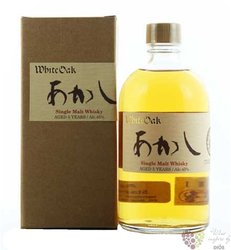 Akashi aged 5 years single malt Japanese whisky by White oak distillery 50% vol.    0.50 l