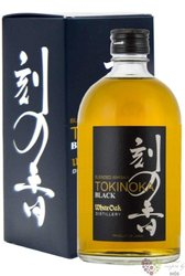 "Tokinoka "" Black "" blended malt Japanese whisky by White oak 40% vol.  0.50 l"